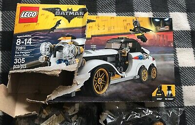 Lego Batman Movie 70911 Set Penguin Arctic Roller Ebay