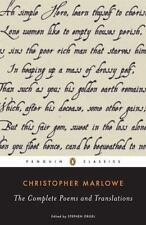 Christopher Marlowe - Complete Poems and Translations by Stephen Orgel and Christopher Marlowe (2007, Paperback)