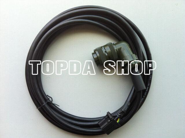 MD204 10M FANUC Servo Motor Power Cable CNC Engraving Machine DHL Free shipping