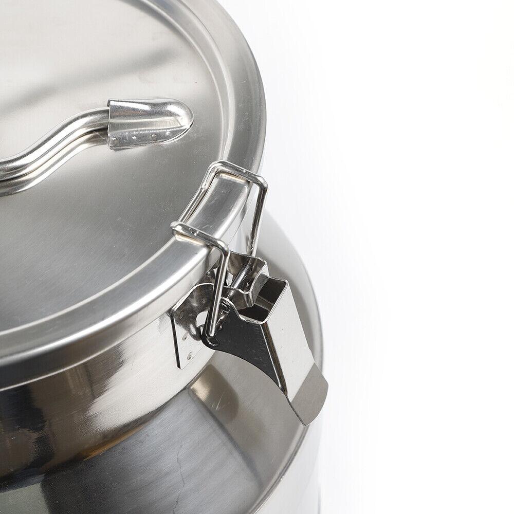 10pairs Gold stainless steel Round Hoop Sleeper Earrings 20mm//30mm//40mm//50m//70mm