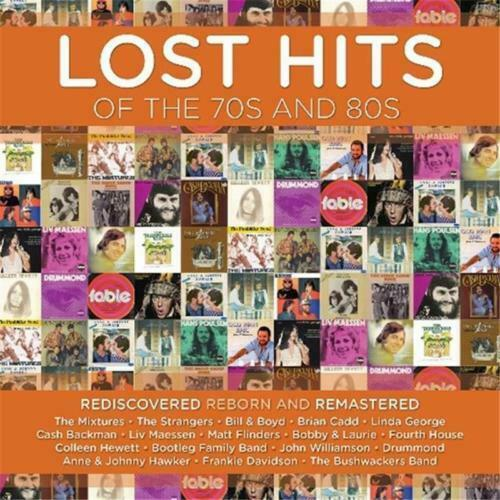 LOST HITS OF THE 70s AND 80s CD NEW Mixtures Strangers Brian Cadd Bobby & Laurie