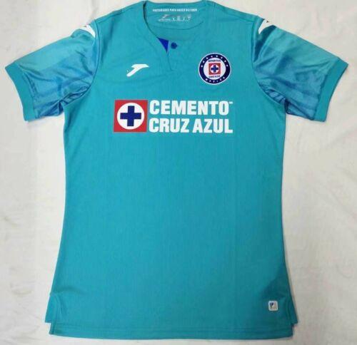New 2019-20 Cruz Azul Second Away Soccer Jersey Short sleeve T shirt size S-2XL