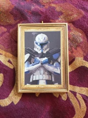 Details about  /Star Wars Captain Rex Christmas Ornament//Magnet//DHM//Wall Art//Tabletop Decor