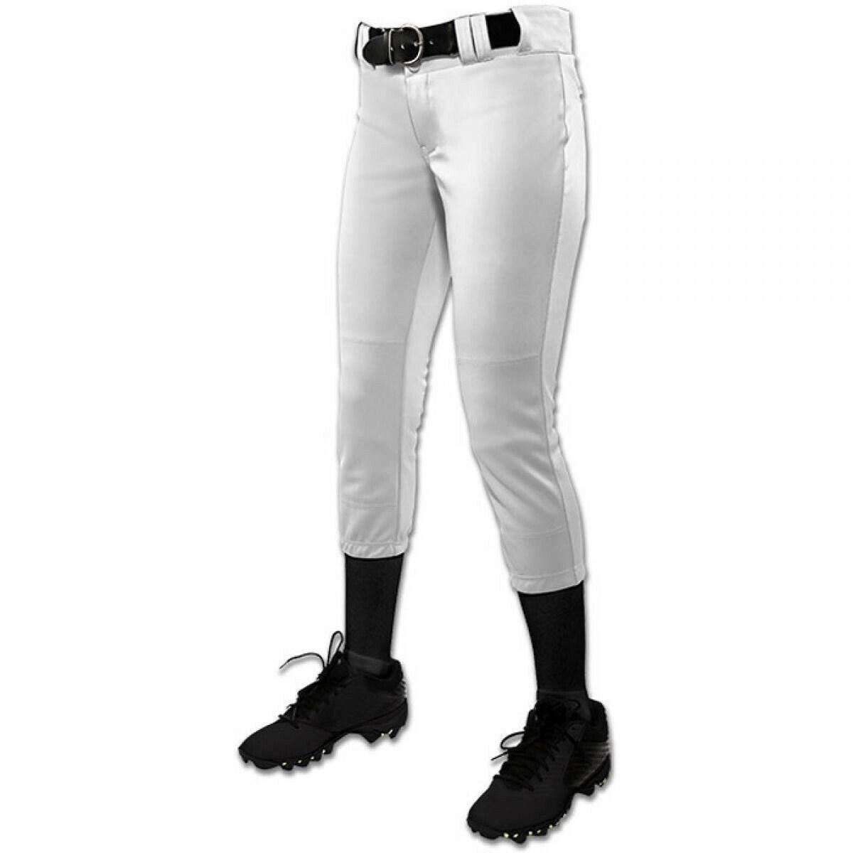 Champro Sports WOMEN/'S Tournament Traditional Low-Rise Fastpitch Softball Pants
