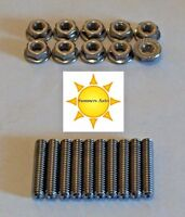 Bbb Buick 400 430 455 Stainless Steel Valve Cover Stud Kit S/s Bolts