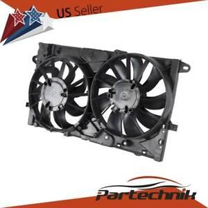 Radiator-A-C-AC-Condenser-Cooling-Fan-Assembly-fit-Chevy-Malibu-IMPALA-BK-REGAL
