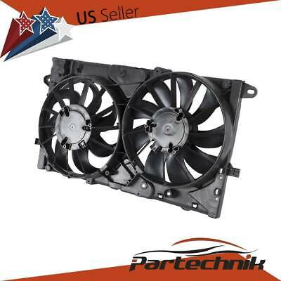 Radiator A//C AC Condenser Cooling Fan Assembly for Chevy Malibu Impala BK Regal