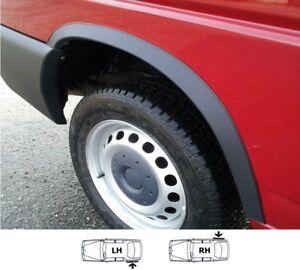 VW-TRANSPORTER-T4-Radlauf-Zierleisten-Hinten-2-Stueck-Links-Rechts-MATT-SCHWARZ