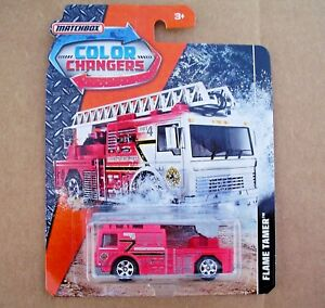 VHTF-Flame-Tamer-COLOR-CHANGERS-2018-Matchbox-DXH92-New-in-Blister-Package