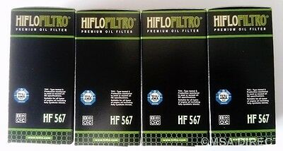 RR Hiflofiltro Oil Filter Fits MV AGUSTA BRUTALE 1090 R 2010 to 2016