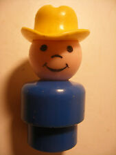 Vintage fisher price little play people family personnage figurine figure