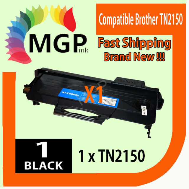 1x Compatible TN-2150 Toner to Brother Monochrome Laser MFC7840W MFC7340