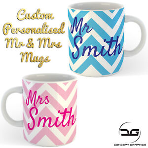 Custom-Personalised-Mr-amp-Mrs-Coffee-Cup-Mug-Perfect-Wedding-Engagement-Gift