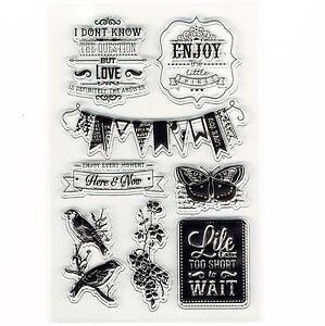 Celebration-Motivational-Banner-Set-of-8-Clear-Cling-Stamps