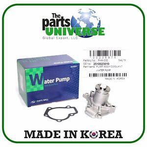 Water Pump Fits 99-12 Elantra Tiburon Tucson Soul Spectra Sportage 25100-23022