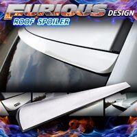 Furious Design // Unpainted 13+ Audi A3 S3 8v Sedan Window Visor Roof Spoiler