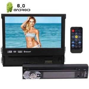 1-DIN-Android-7-034-Pantalla-tactil-GPS-Car-Radio-estereo-Reproductor-de-DVD-USB