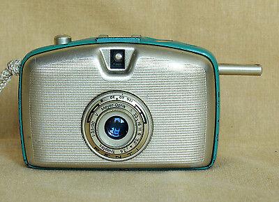 Penti halfframe golden German 35mm film camera Pentacon Welta CLA works Trioplan