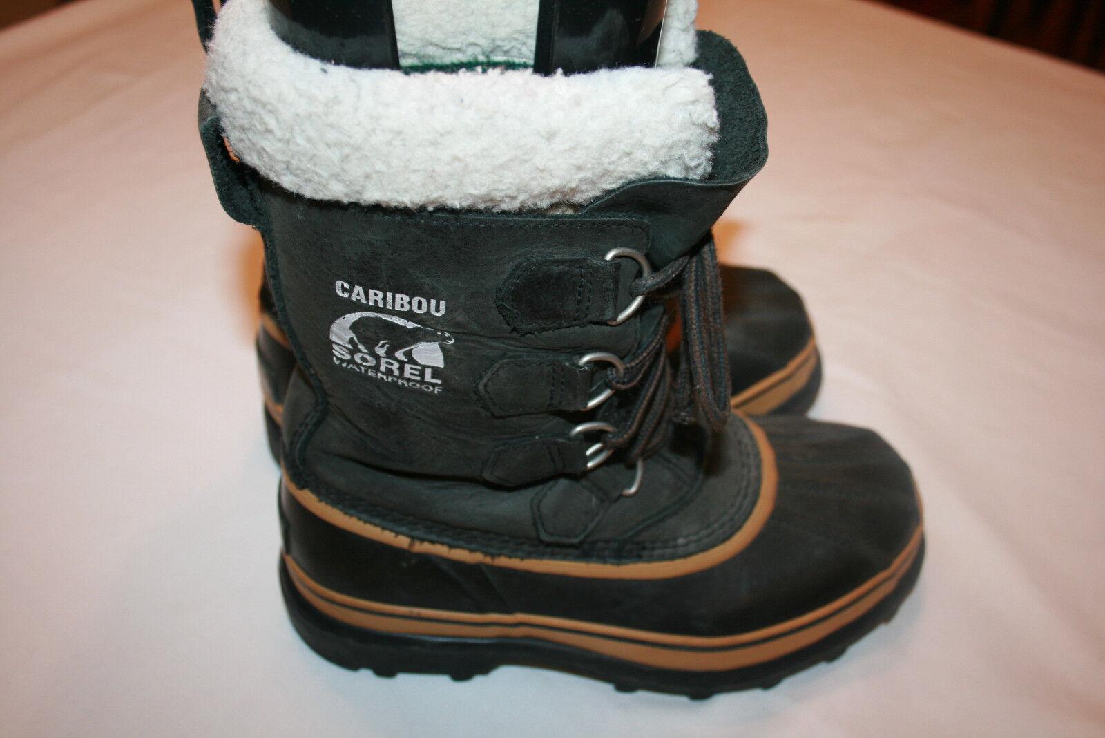 Sorel NL1005-011 Caribou Women's Snow Boot Sz USA 6 Euro 37