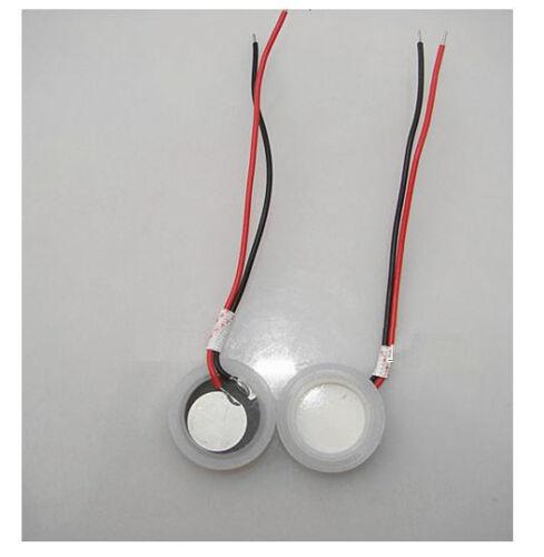 5PCS Φ20mm Ultrasonic Mist Maker Fogger Ceramics Discs with Wire /& Sealing Ring