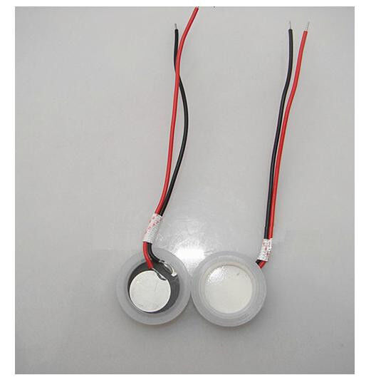 1PCS Φ20mm Ultrasonic Mist Maker Fogger Ceramics Discs with Wire & Sealing Ring