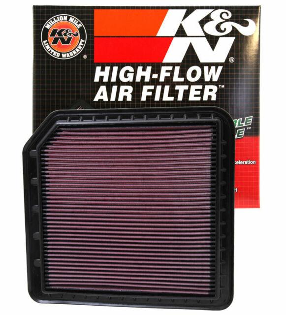 K/&N 33-2333 K/&N Drop-In High-Flow Air Filter Fits:LAND ROVER 2005-2009 LR3 V8