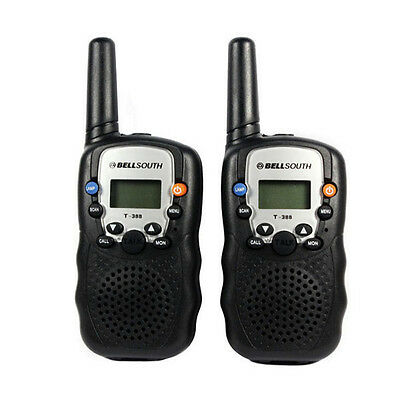 1 Pair Of Wireless Walkie-talkie Set Eight Channel 2 Way Radio Intercom Pro
