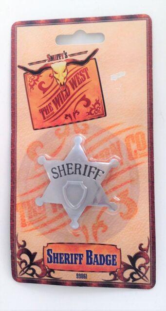 Smiffys Wild West Sheriff Badge
