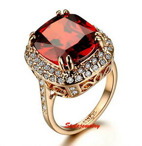 Rose-Gold-Plated-Ruby-Red-Stone-Cocktail-Ring-Made-With-Swarovski-Crystal-R188