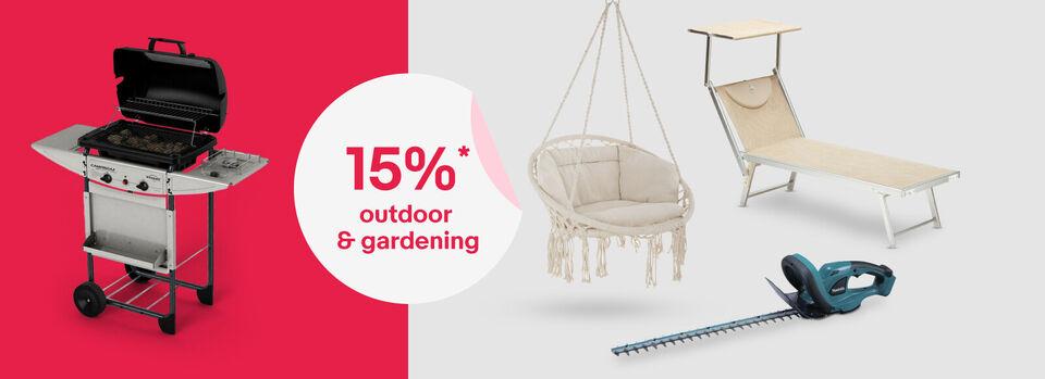 Scopri tutto - Rinfresca il tuo giardino, per te 15%* coupon
