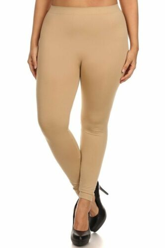 Womens Thin Leggings One Size Fits XL,1XL,1X,2XL All Colors !