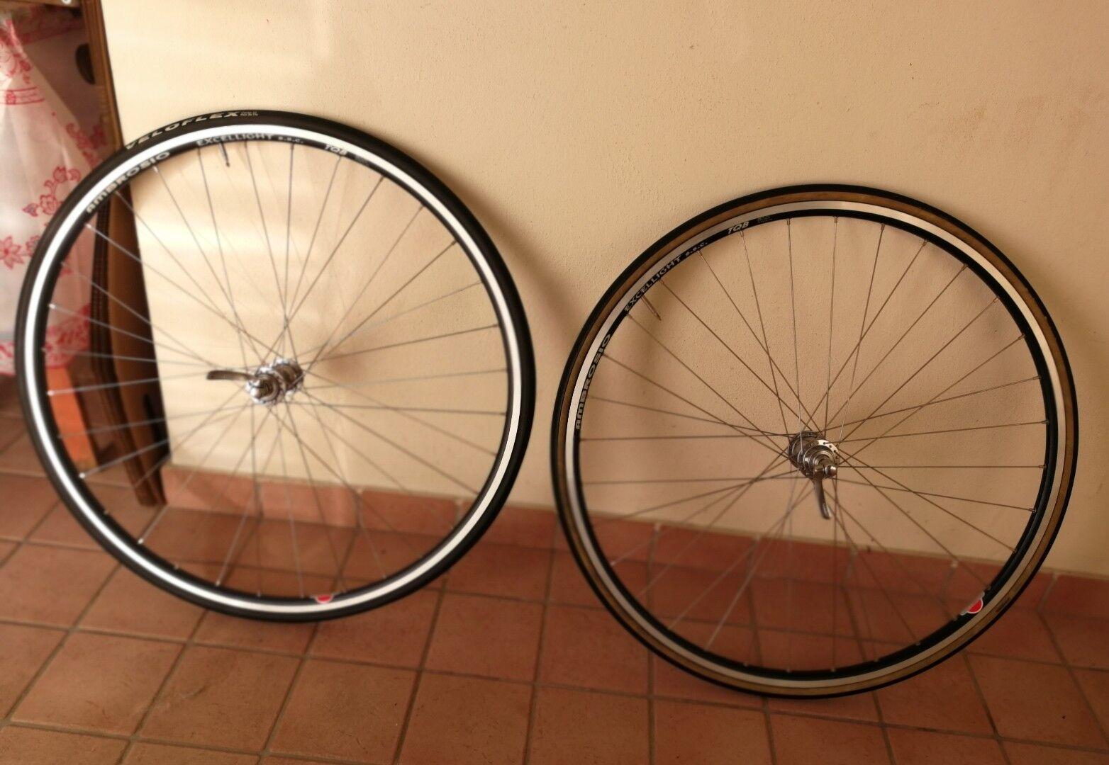 Shimano Dura-Ace 7800 Road Wheelsts, ruote complete