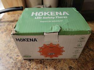 Hokena Roadside Emergency Flare/Safety Light/ Flashing Beacon - 3PK