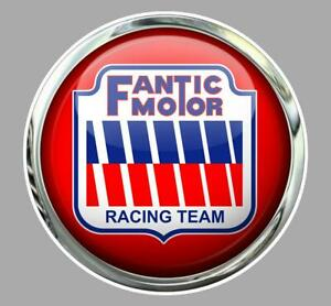 FANTIC MOTOR right Pin Up droite Sticker