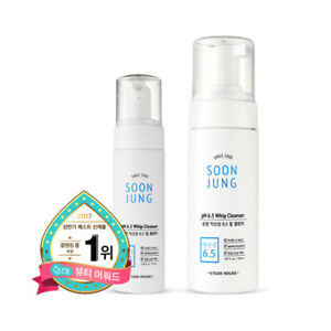 [ETUDE HOUSE] SoonJung pH 6.5 whip Cleanser - 70ml / 150ml