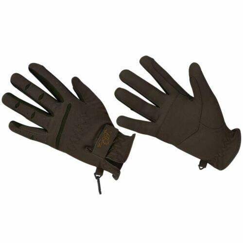 Lag Domi Suede Gloves Kids Black