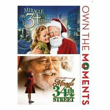 Miracle on 34th Street (1947)/Miracle on 34th Street (1994) Brand New Sealed DVD