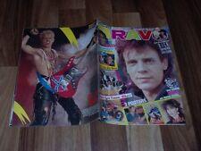 BRAVO  33/9.8.1984 -- NIK KERSHAW / the KING ELVIS LEBT !! / Duran / Billy Idol