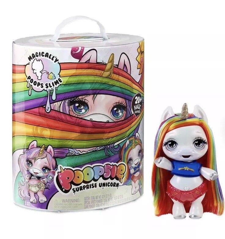 New Poopsie Slime Surprise Unicorn Rainbow BrightStar Magically Poops Hot Toy
