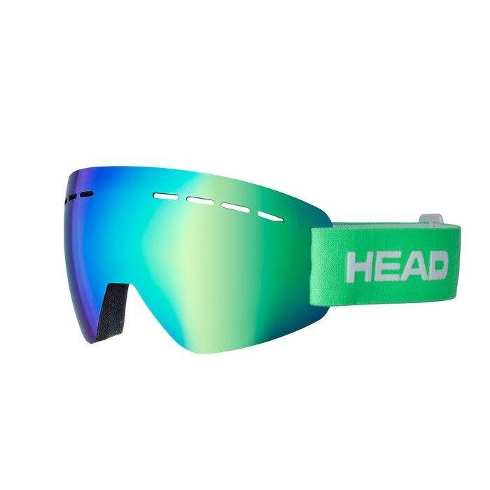 Maschera sci Head Solar FMR  verde uomodonna