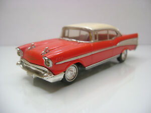 Diecast-Dinky-Toys-DY-2-Chevrolet-Bel-Air-Sport-Coupe-Red-Very-Good-Condition