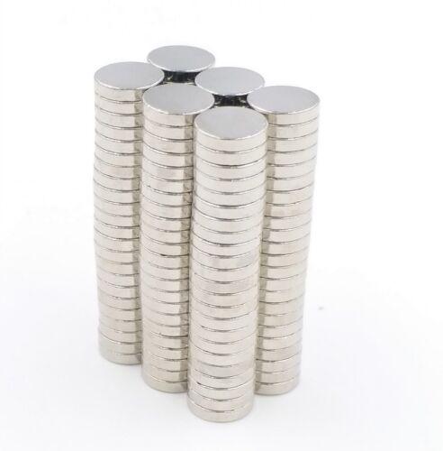 Neodym Magnete7x1mm Supermagnete hohe Haftkraft Scheibenmagnet N35 50 Stück