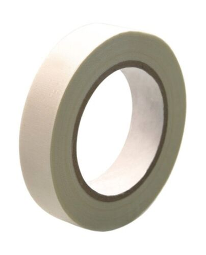 CS Hyde High Temperature Fiberglass  Double Sided Silicone Adhesive Tape Ivory