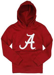 NCAA Youth Alabama Crimson Tide Performance Pullover Sweatshirt Hoodie