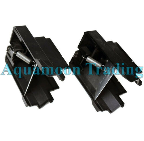 2 LOT 1B23S4Q00 Dell Precision T7600 Spring Bracket Module Housing Endcap Assy