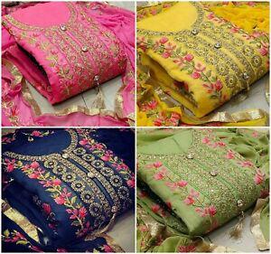 Pakistani-Indian-Salwar-Suit-Bollywood-Designer-Kameez-Dress-Wedding-wear-Dress