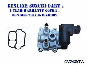 Details about Genuine SUZUKI Swift IACV idle air control valve 18137-64G01  ISW