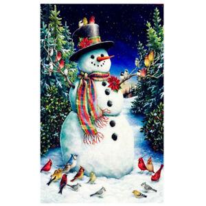 Christmas-5D-DIY-Diamond-Painting-Snowman-Embroidery-Cross-Stitch-Art-Home-Decor