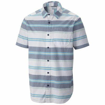 "New Mens Columbia /""Thompson Hill II/"" Yarn Dye Classic Short Sleeve Shirt"