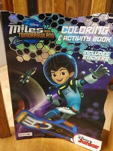 Bendon Miles From Tomorrowland Coloring Activ 9781505003581 Ebay